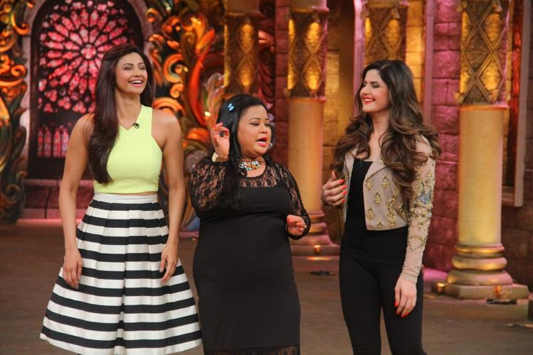Comedy Nights Bachao 21st Nov 2015 Episode Guests Zareen Khan & Daisy Shah