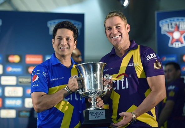 Watch All Stars Sachin Blasters vs Warne Warriors 1st T20 Match Live Stream Score Result
