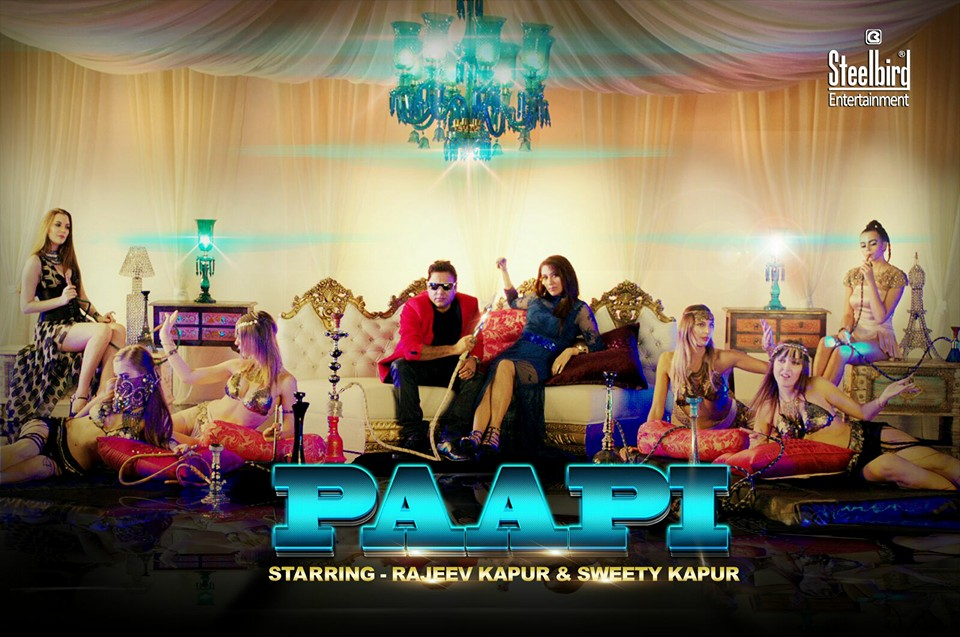 Groovy Paapi Song Video Sharabi Anthem 2015 Ft. Sweety Kapur Rajeev Kapur #PAAPI