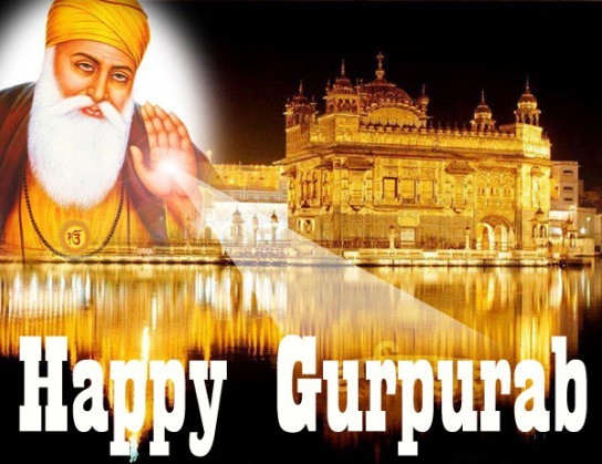 Happy Guru Nanak Jayanti Wishes SMS Gurpurab FB Whatsapp Status DP Images 2015