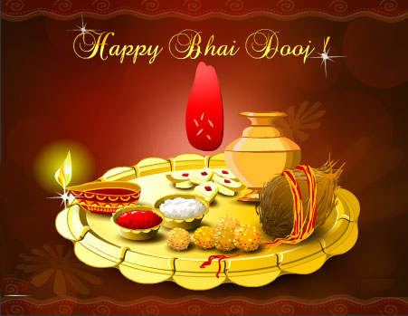 Happy Bhai Dooj Puja Time Shubh Muhurat Wishes SMS Whatsapp Status Images Photos 2015