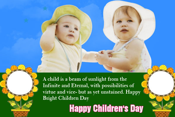 Happy Children's Day Photos
