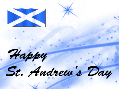 Happy St Andrews Day
