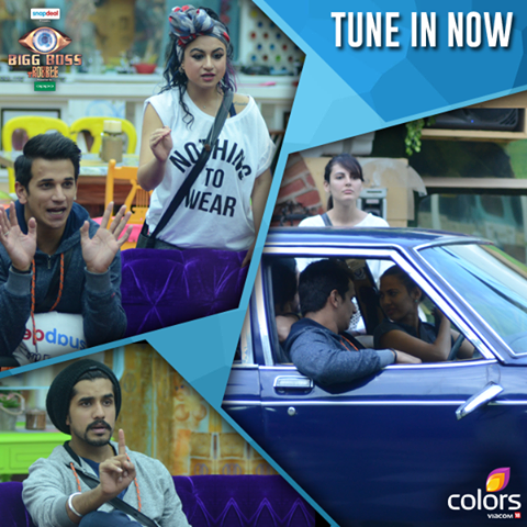 Immunity Car Task Bigg Boss 9 26th November 2015 Episode Written Updates