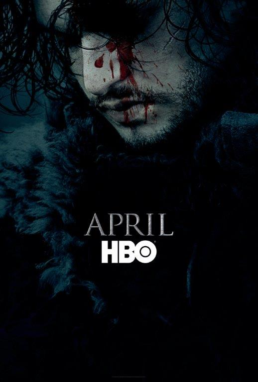 Game of Thrones Season 6 Teaser Poster Released Featuring Jon Snow