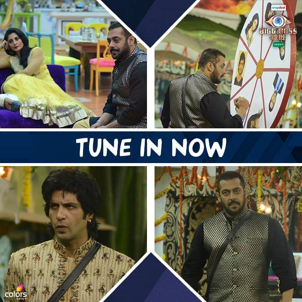 Nomination Special With Salman Khan! Bigg Boss 9 9th Nov 2015 Episode Written Updates