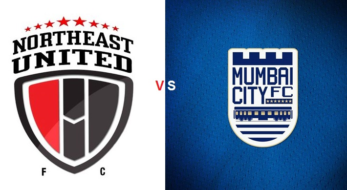 ISL 2015 North East United vs Mumbai 42nd Match Live Score Stream Team Squad Result Winner