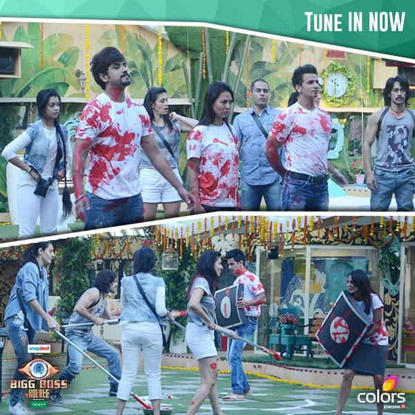 Rishabh Puneet Fight Bigg Boss 9 13th Nov 2015 Episode New Captain Task Result