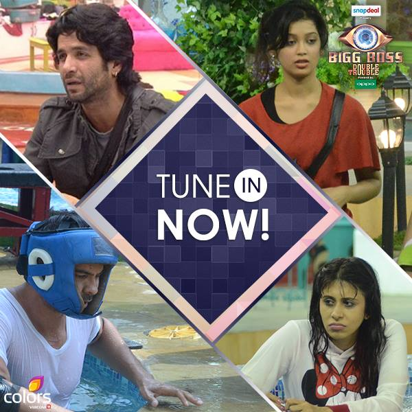 Rishabh Rochelle Fight Bigg Boss 9 5th November 2015 Episode Written Updates Puneet New Wildcard Entry