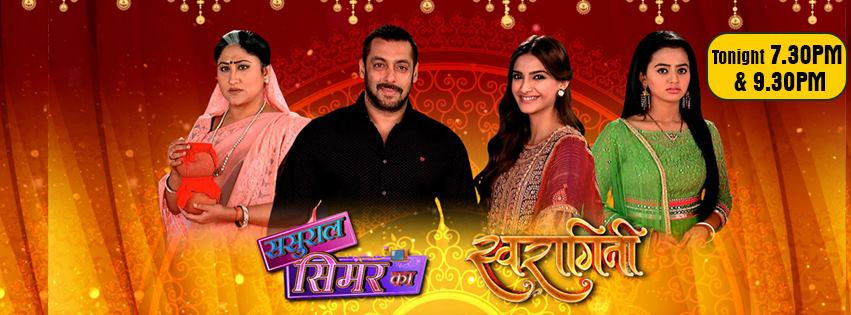 Salman Khan & Sonam Kapoor Dazzle Swaragini 9th Nov 2015 Episode