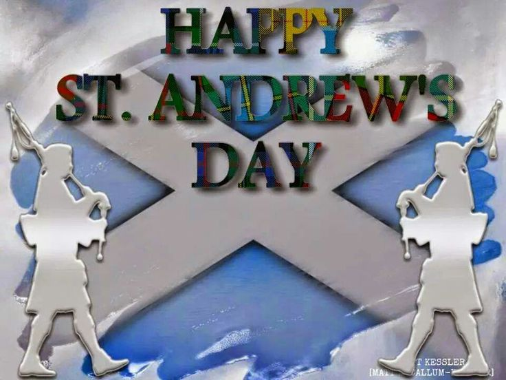 St Andrews Day Images