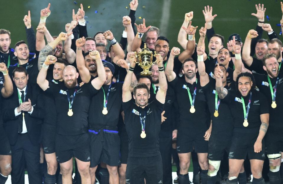 Superb! New Zealand (All Blacks) Win Rugby World Cup 2015 #RWC2015final
