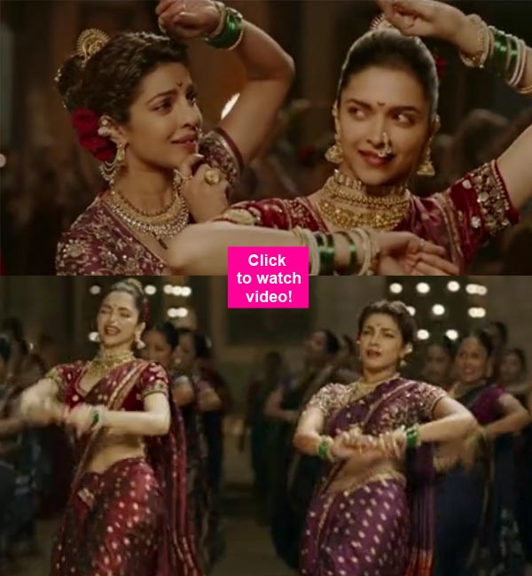 Watch Pinga Song Hd Video From Bajirao Mastani Ft. Deepika & Priyanka