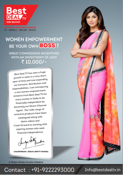 Watch Shilpa Shetty Best TV Campaign To Make Women Financially Independent