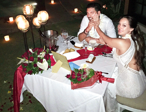Yuvraj Singh Engaged With Actress Hazel Keech Photos