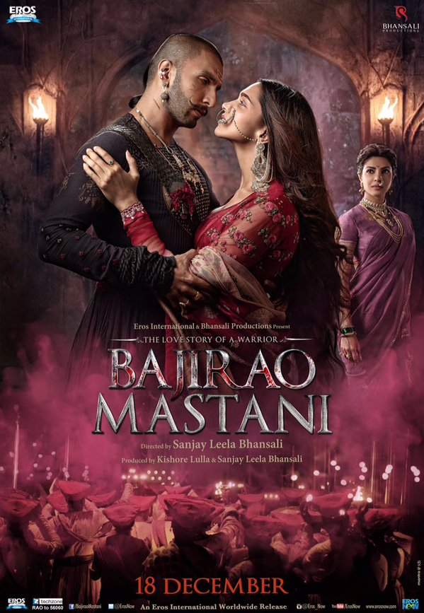 Saturday Bajirao Mastani Movie 2nd Day Box Office Collection