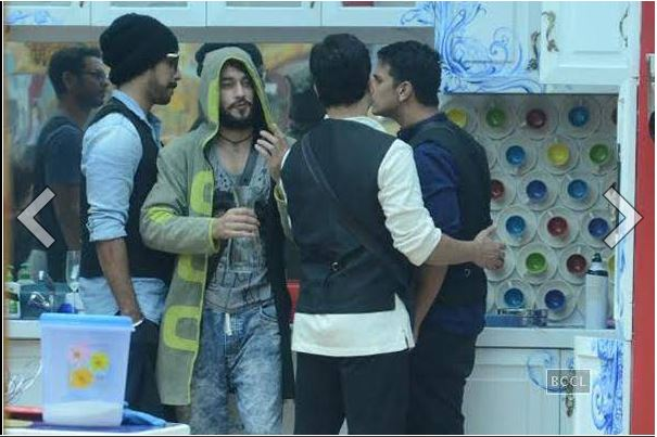 bigg boss 9 prince & rishabh fight