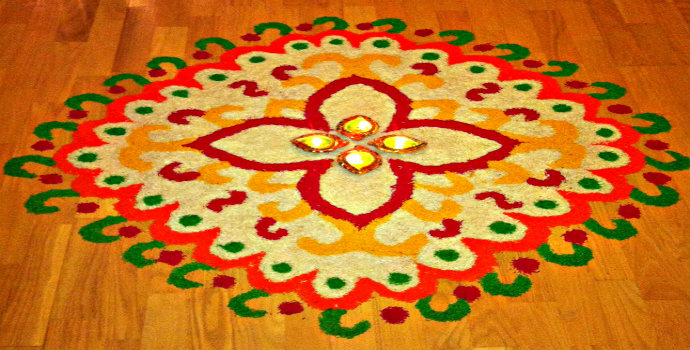 diwali rangoli latest designs
