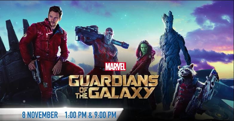 gardians of the galaxy movie on tv