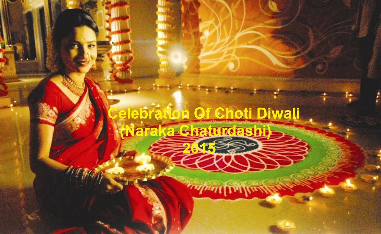 happy choti Deepavali Celebrations