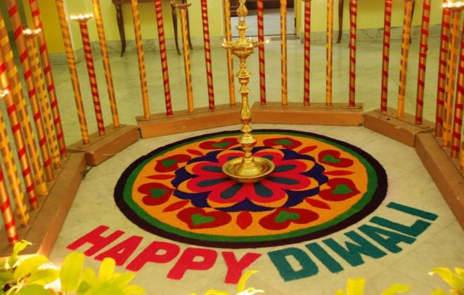 happy diwali rangoli pics