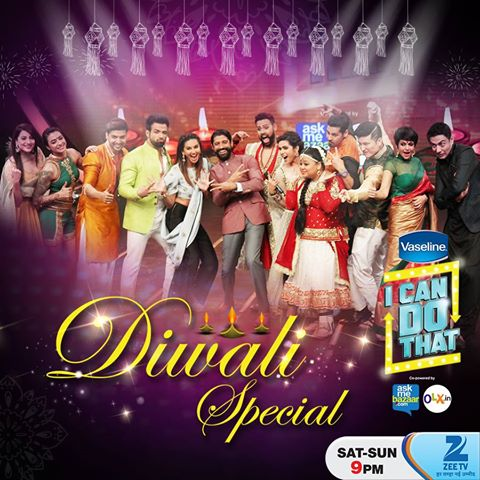 8th November 2015 I Can Do That Episode Top 8 Contestants