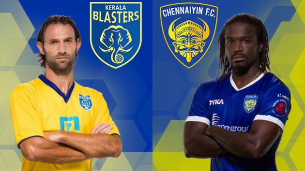 ISL 2015 Chennai vs Kerela 43rd Match Live Score Stream Team Squad Result Winner