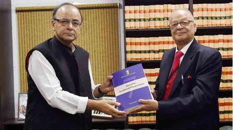 Seventh pay commission recommends 23.55 % Hike in Pay of Central Governments