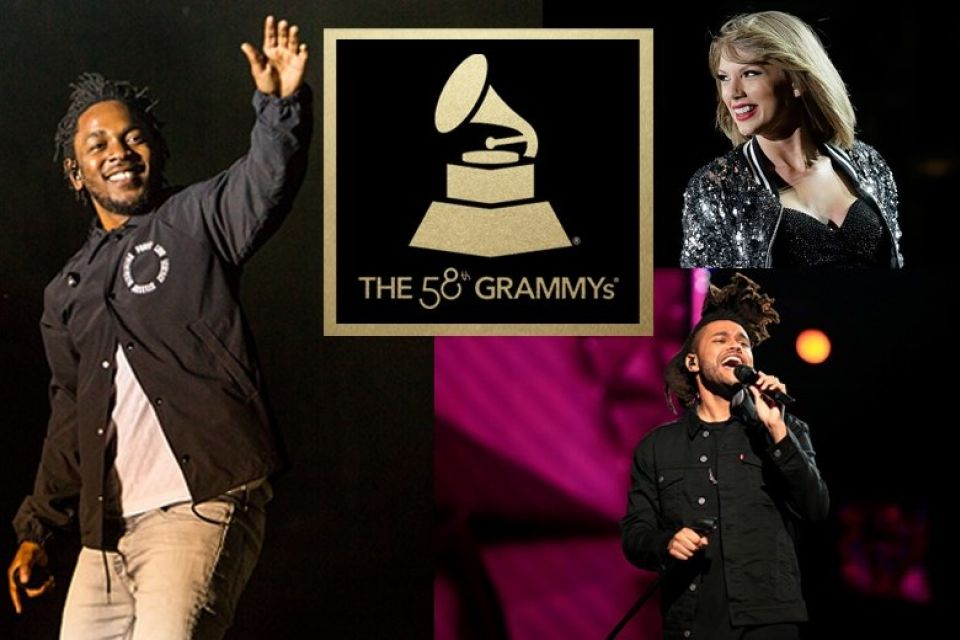 58th Grammy Award 2016 Kendrick Lamer Leads Nomination List Winner Name Complete Details
