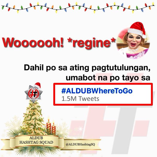 #ALDUBWhereToGo Eat Bulaga KalyeSerye AlDub 12th December 2015 Episode