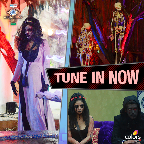 BB9 Scary House (Bhoot Bangla) Task Bigg Boss 9 9th December 2015 Episode Written Updates