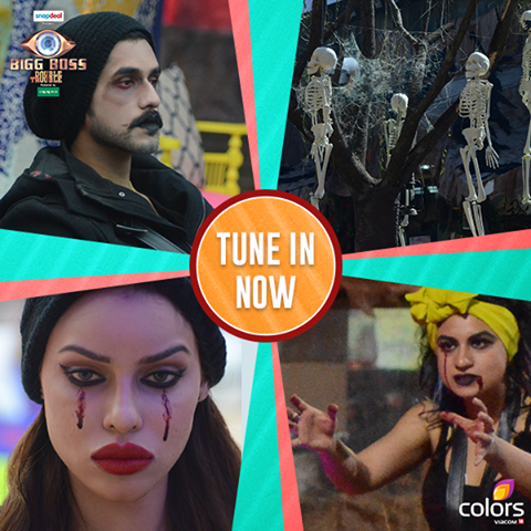 BB9 Which Team Win Bhoot Bangla Task Result! Bigg Boss 9 10th December 2015 Episode