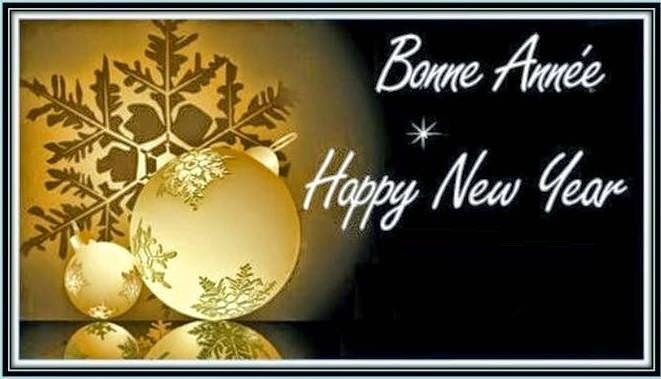 bonne anne happy new greetings in french