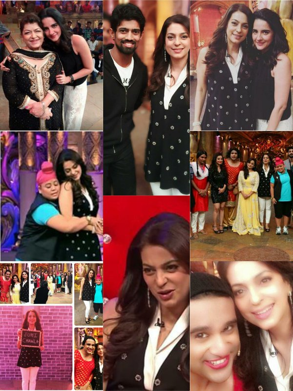CNB Comedy Nights Bachao 26th Dec 2015 Episode Guest Juhi Chawla & Divya Dutt