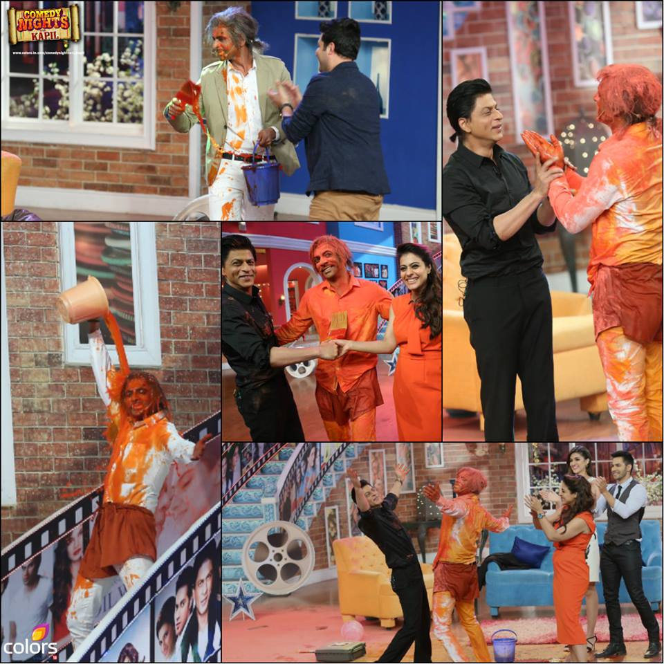 CNWK Comedy Nights With Kapil 20th December 2015 Episode Guests Dilwale Star Cast Kajol & SRK