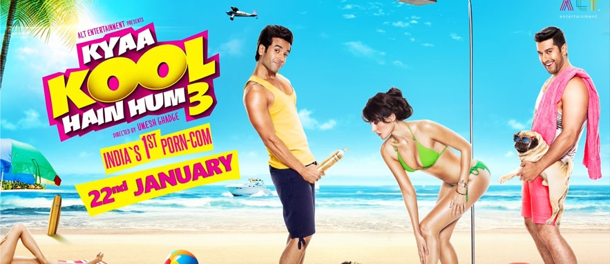 Comedy Kyaa Kool Hain Hum 3 Movie Trailer Released Star Casts Tusshar, Aftab & Mandana
