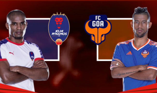 Today ISL 2015 Delhi vs Goa 1st Semi Final 2nd Leg Match Live Score Stream Team Squad Result Prediction