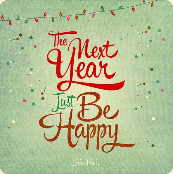 Happy New Year 2016 Resolutions Ideas
