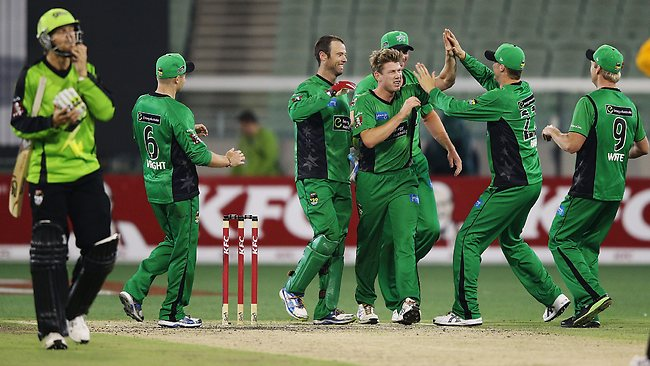 Watch Big Bash League MLS vs SYT Live Score Stream Check BBL Melbourne Stars vs Sydney Thunders Team Squad Result Prediction