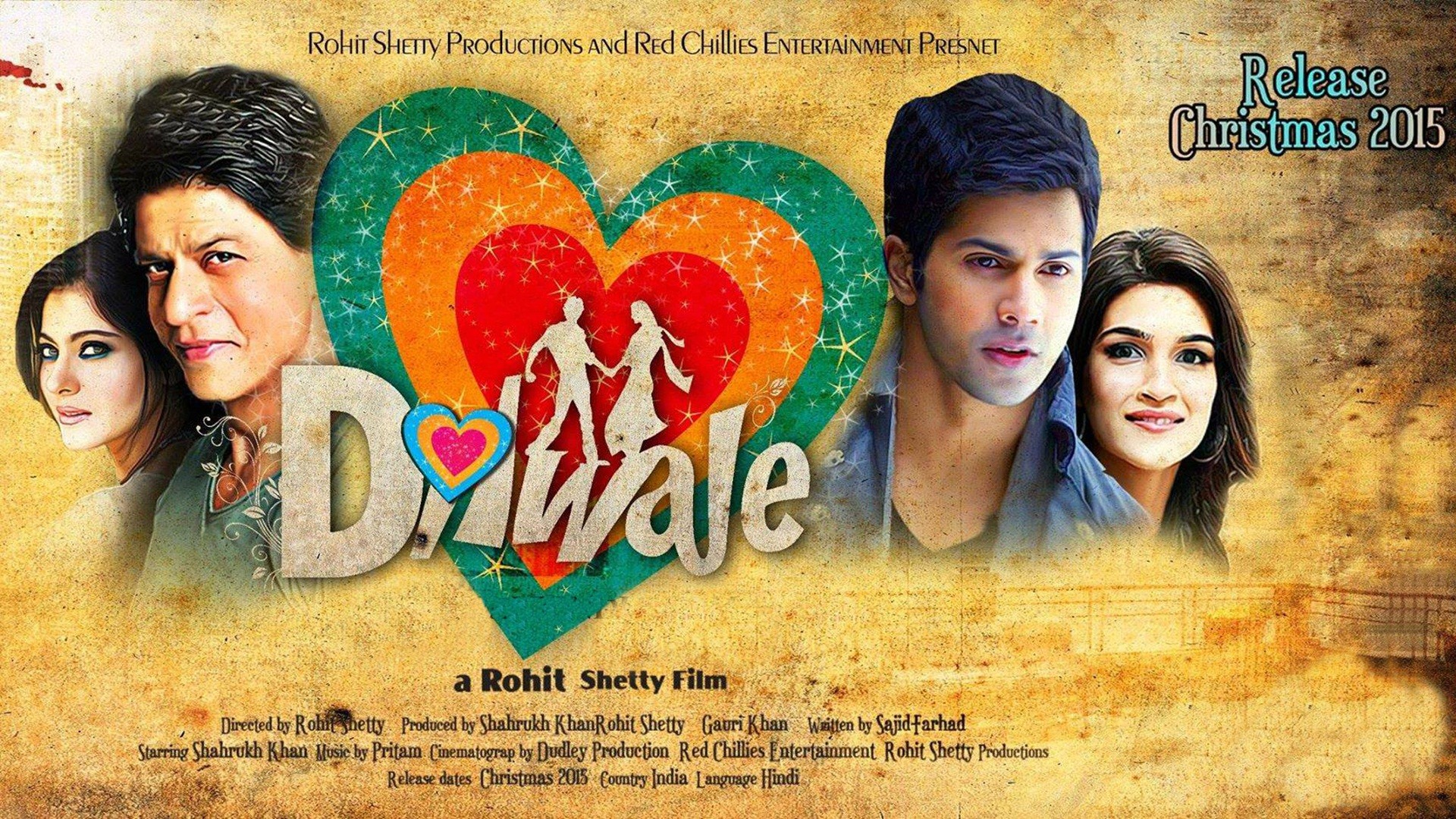 Total 1st Monday Collection Of Dilwale Movie 4th Day Box Office Report