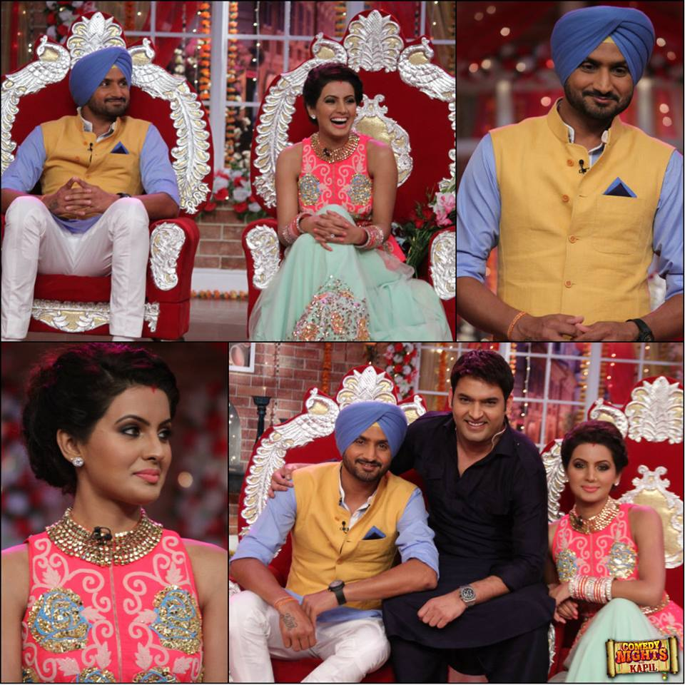 Watch CNWK Comedy Nights With Kapil 6th December 2015 Episode Guests Harbhajan Singh & Geeta Basra