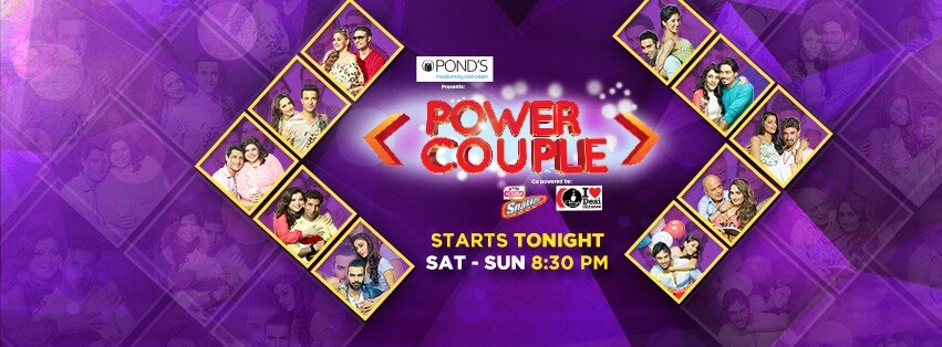 Watch New TV Reality Show Power Couple 1st Episode 12th December 2015