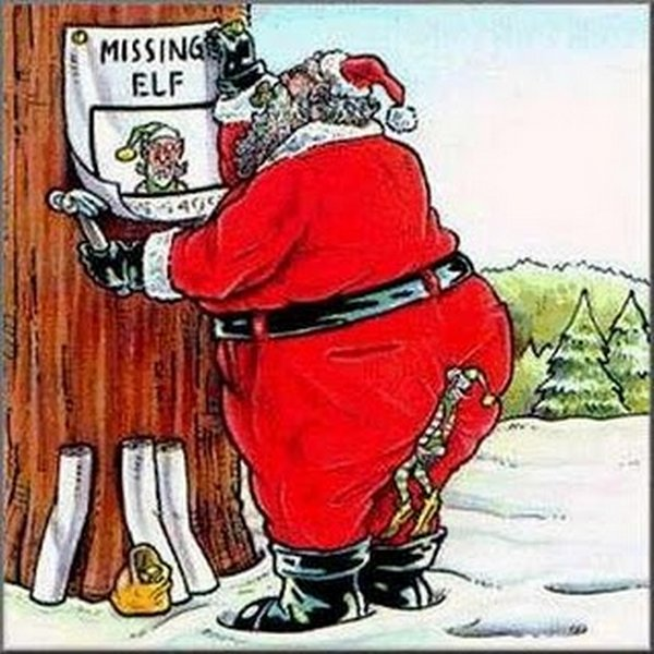 cartoon santa images