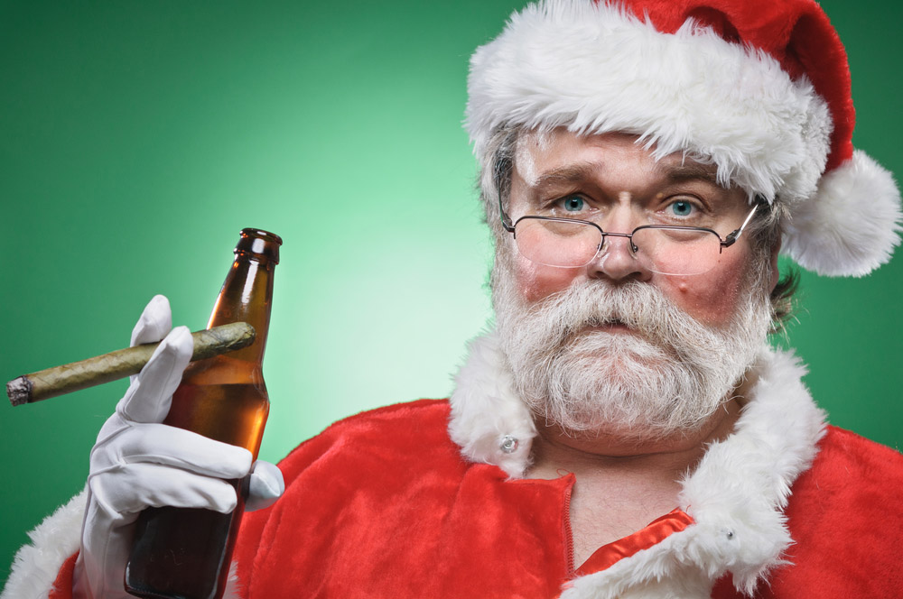 drunked santa claus