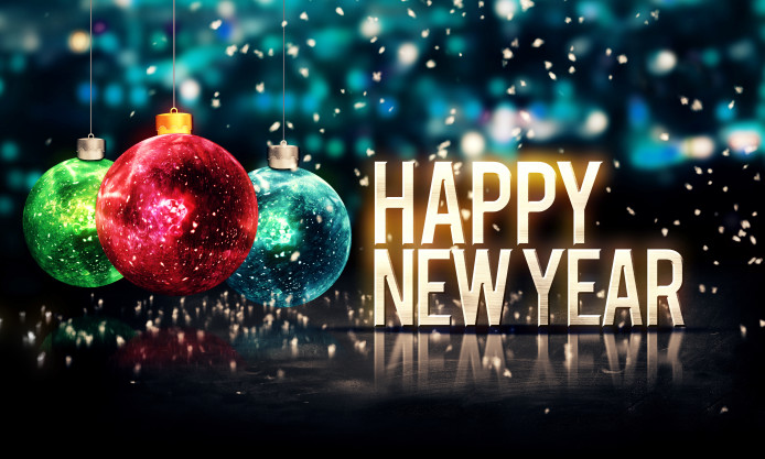 2018 Happy New Year Wishes Messages Wallpapers Whatsapp Status Dp ...