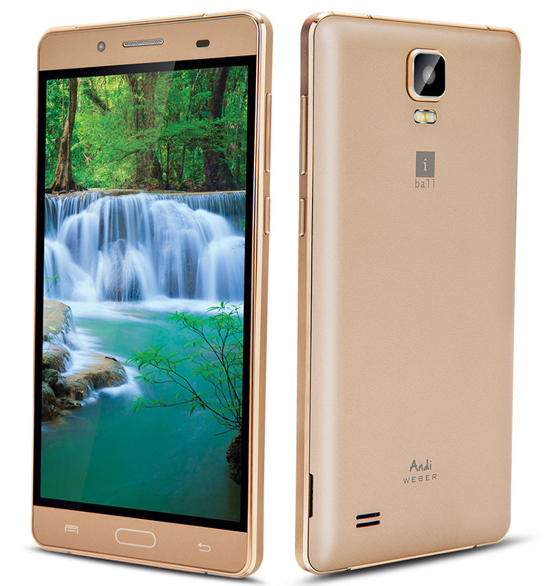 iBall Android 5.5H Weber Launched Officially In India