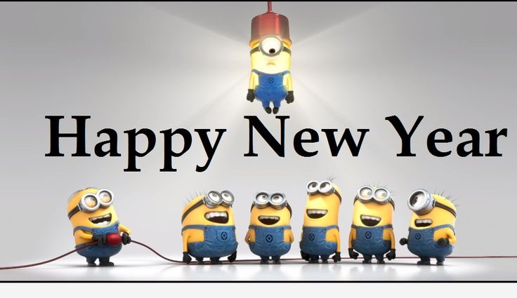minions new year wish