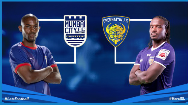 ISL 2015 Chennai vs Mumbai Match 51 Live Score Stream Team Squad Result