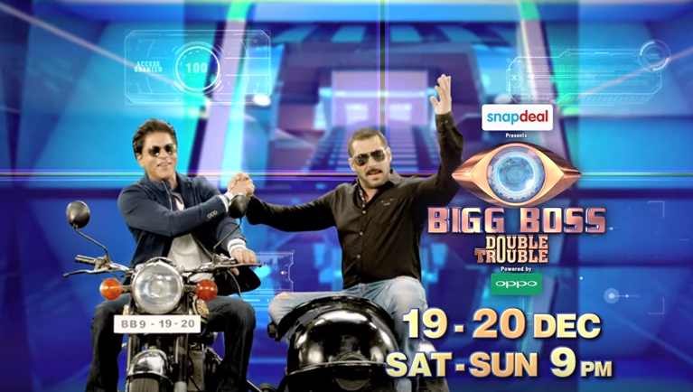 srk and salman khan bigg boss 9
