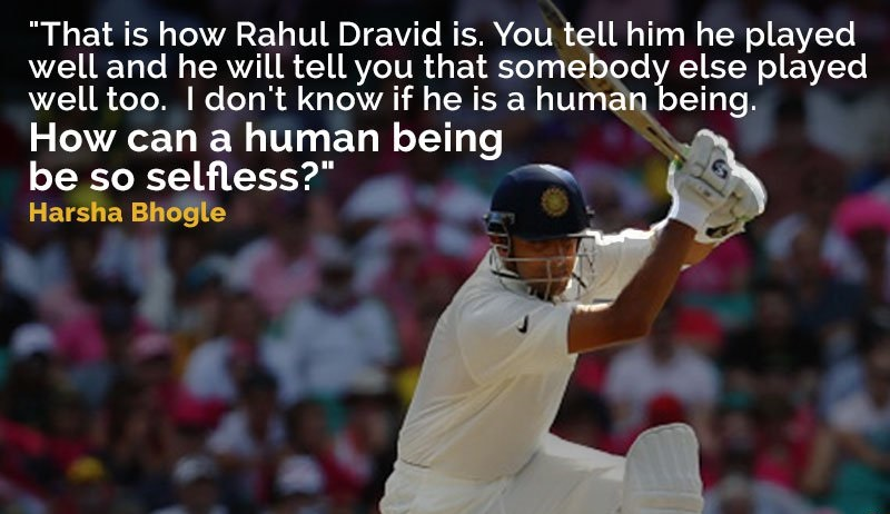 """The Wall"" Rahul Dravid Turns 43 Today! Best Quotes About Rahul Dravid"